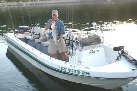 Doug Shaw, Striper Guide at Lake Texoma, Pottsboro, Texas